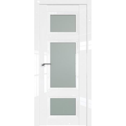 Профиль дорс 2.105L Белый люкс - со стеклом