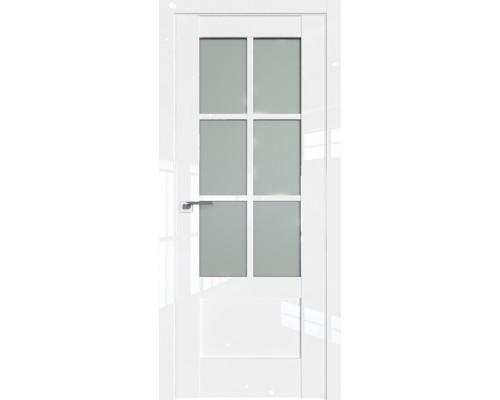 Профиль дорс 103L Белый люкс - со стеклом