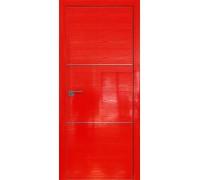 Профиль дорс 2STK Pine Red glossy