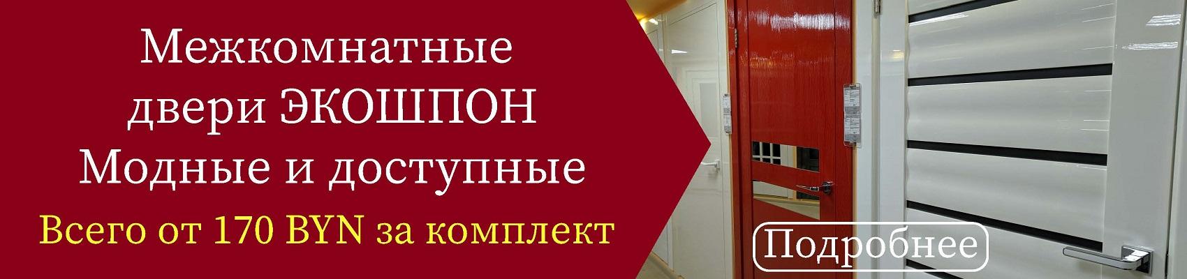 Стильные двери экошпон в Витебске